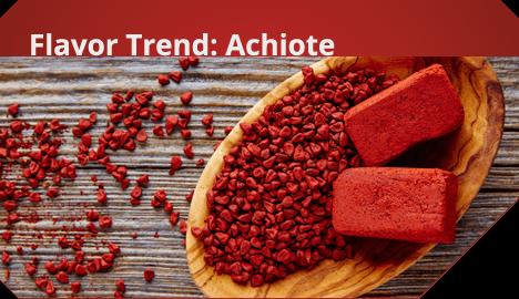 Flavor Trend: Achiote