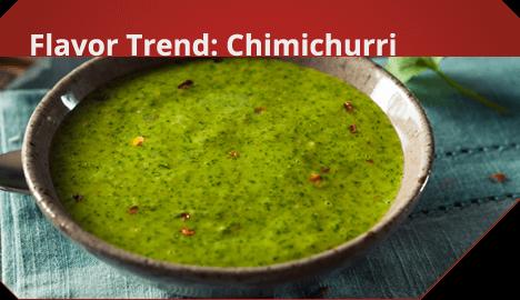 Flavor Trend: Chimichurri