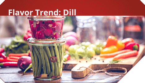 Flavor Trend: Dill
