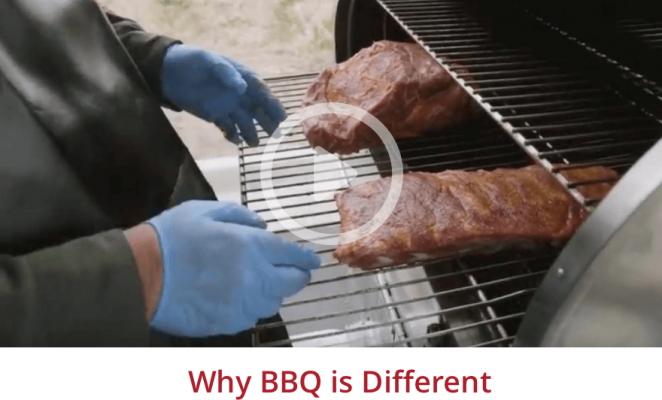 Why BBQ is Different