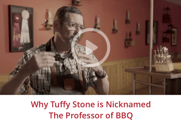 "Why Tuffy Stone is nicknamed ""The Professor"" of BBQ"