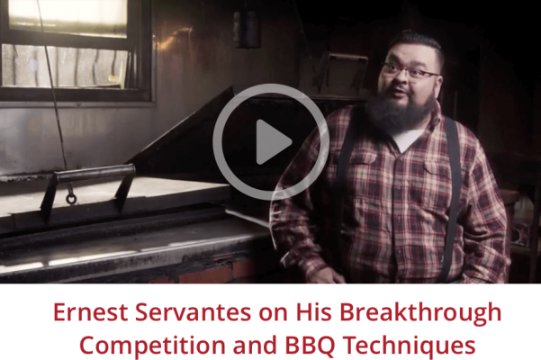 Ernest Servantes on his breakthrough competition and BBQ techniques