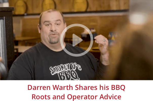 Darren Warth shares his roots and BBQ advice