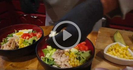 Texas Chicken Cobb Salad