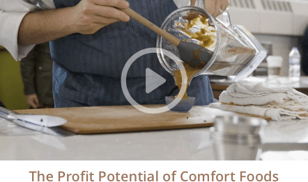 The Profit Potential of Comfort Foods