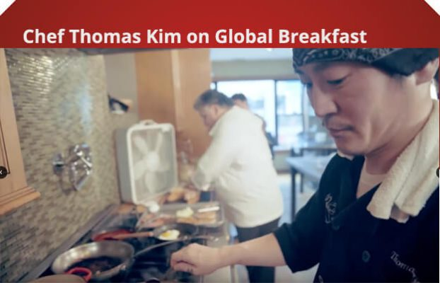 Chef Thomas Kim on Global Breakfast