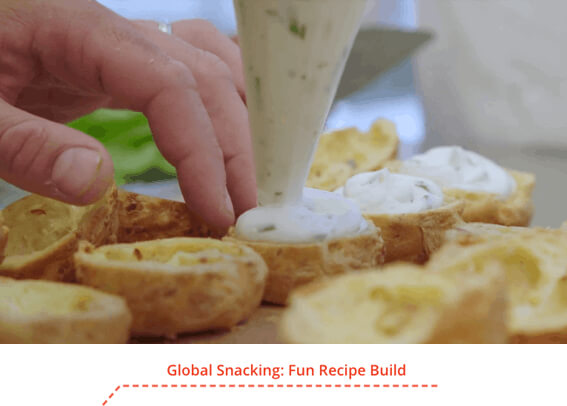 Global Snacking: Fun Recipe Build